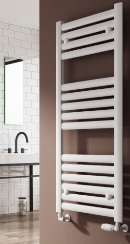 Reina Anita A-ATA1195W White Towel Rail 530 x 1195mm