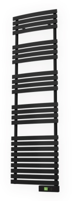 Black Electric Towel Rail