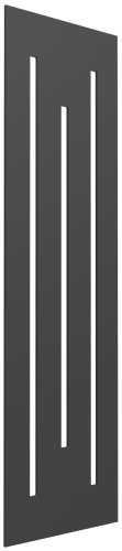 Reina Line RND-LE418A Anthracite Vertical Radiator 490 x 1800mm