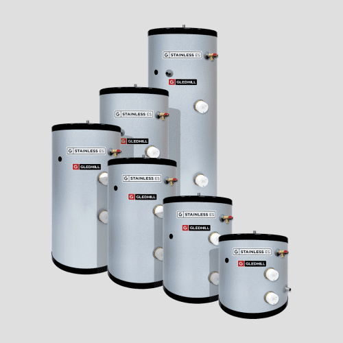 Gledhill Stainless ES Unvented 150 Litre Cylinder - Direct Connection