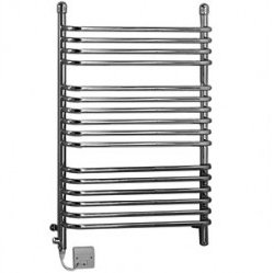 Dimplex BR150C Chrome 150W Electric / 320W Water Ladder Towel Rail