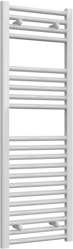 Reina Diva AG40120WF White Flat Towel Rail 400 x 1200mm