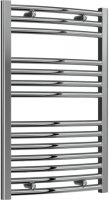 Reina Diva AG50800CC Chrome Curved Towel Rail 500 x 800mm