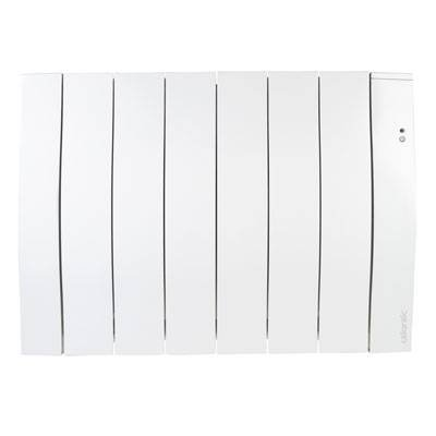 Atlantic Galapagos Electric Radiator - AH501315, 1500W, White, Vertical