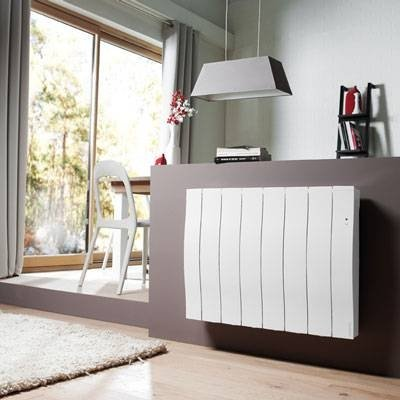 Atlantic Galapagos Electric Radiator - AH500610, 1000W, White