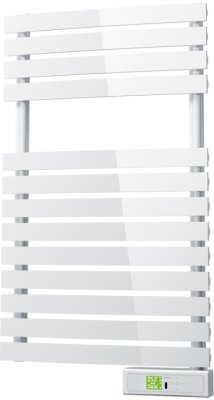 White Towel Rail