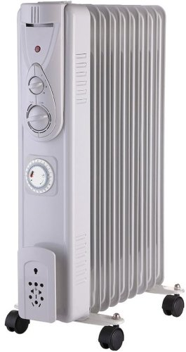 Osily OSOFR2T Oil Filled Electric Radiator with Timer 2000W