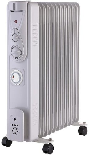 Osily OSOFR25T Oil Filled Electric Radiator with Timer 2500W