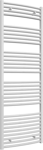 Reina Diva AG60180WC White Curved Towel Rail 600 x 1800mm