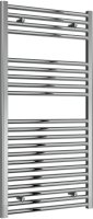 Reina Diva AG60120CF Chrome Flat Towel Rail 600mm x 1200mm