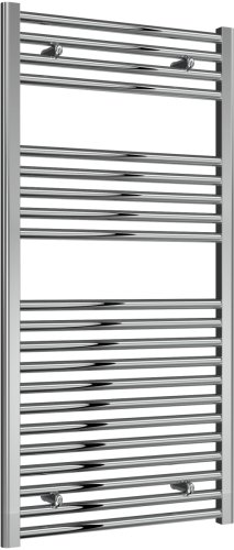 Reina Diva AG60120CF Chrome Flat Towel Rail 600 x 1200mm
