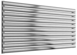 Reina Artena Single RNS-AT912B Brushed Radiator 1200 x 590mm