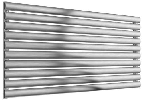 Reina Artena Single RNS-AT906B Brushed Radiator 600 x 590mm
