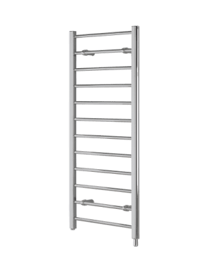 Creda CLR12C Flat Ladder Chrome Towel Rail 1192mm