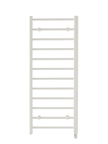 Creda CLR12W Flat Ladder White Towel Rail 1192mm