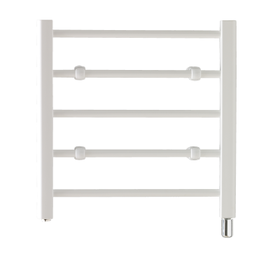 Creda CLR5W Flat Ladder White Towel Rail 492mm
