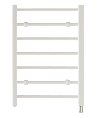 Creda CLR7W Flat Ladder White Towel Rail 692mm