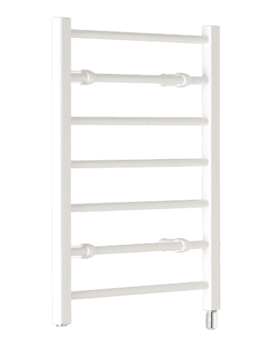 Creda CLR7W 120watt Flat Ladder White Towel Rail 692mm