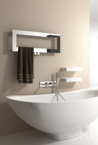 Reina Bivano RNS-BV8030 Stainless Steel Towel Rail 800 x 300mm
