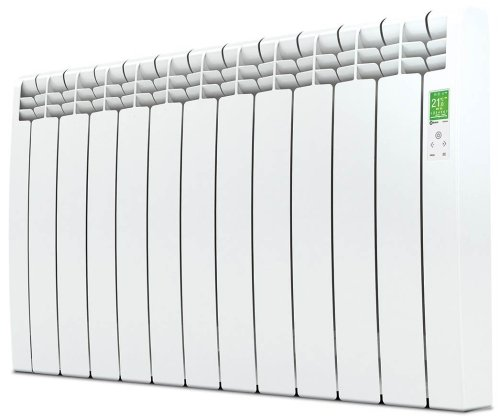 Rointe DIW1210RAD - D Series - Electric Radiator, White, 1210W, 11 Elements