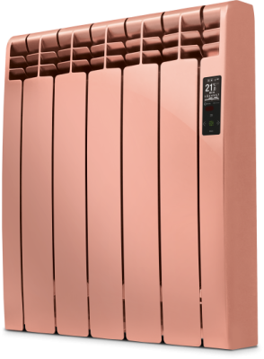 Rointe D Series DIA1210RCS Sahara Copper Satin 1210W Electric Radiator 11 Elements