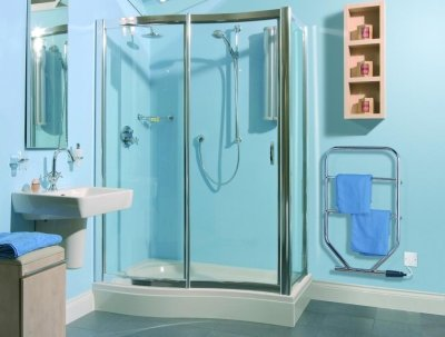 Dimplex TTRC150 Chrome Electric Towel Rail 100W