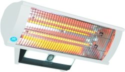 Prem-I-Air EH1462 2.3kW Calor-luz Wall Mounted Patio Heater With Light