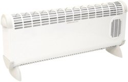 Prem-I-Air EH1664 Bajo 2.5kW Convector Heater with Turbo Fan