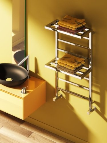 Reina Elvina 2 RND-EV510 Towel Rail 500 x 1000mm