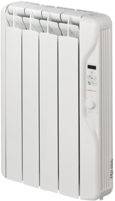 Elnur RF4E-PLUS 500W Digital Inertia Electric Radiator 415mm 4 Elements