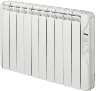 Elnur RF10E 1250W Digital Inertia Electric Radiator 895mm 10 Elements