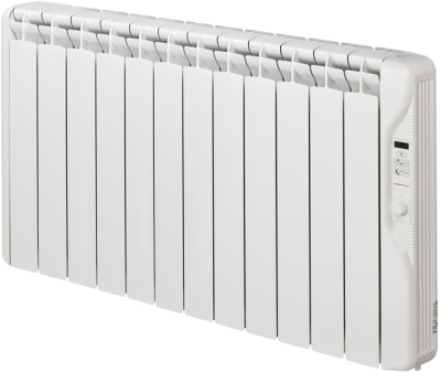Elnur RF12E 1500W Digital Inertia Electric Radiator 1055mm 12 Elements