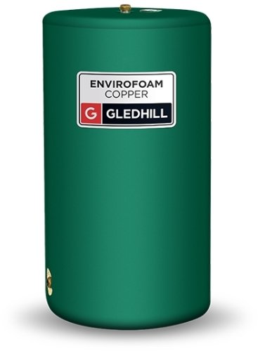 Gledhill Envirofoam Copper Vented 900mm x 450mm 10M WH Direct Cylinder