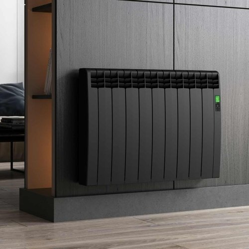 Rointe DIB1600RAD - D Series - Electric Radiator, Graphite, 1600W, 15 Elements