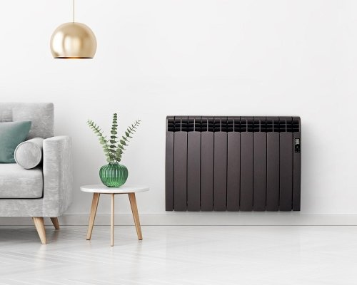Rointe DIB0550RAD - D Series - Electric Radiator, Graphite, 550W, 5 Elements