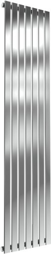 Reina Flox RNS-FTX180041SP Vertical Single Polished Stainless Steel Radiator 413mm x 1800mm