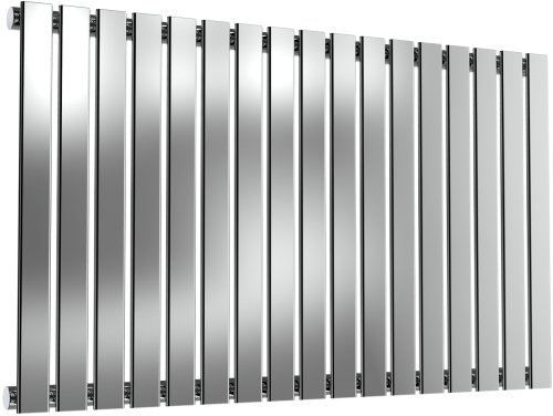 Reina Flox RNS-FTX060100SP Horizontal Single Polished Stainless Steel Radiator 1003mm x 600mm