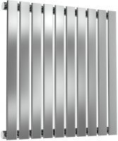Reina Flox RNS-FTX060059SP Horizontal Single Polished Stainless Steel Radiator 590mm x 600mm
