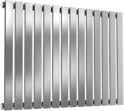 Reina Flox RNS-FTX060082SP Horizontal Single Polished Stainless Steel Radiator 826mm x 600mm
