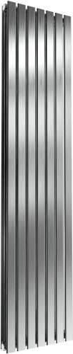 Reina Flox RNS-FTX180041DB Vertical Double Brushed Stainless Steel Radiator 413mm x 1800mm