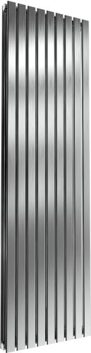 Reina Flox RNS-FTX180053DB Vertical Double Brushed Stainless Steel Radiator 531mm x 1800mm