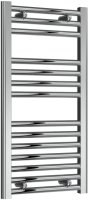 Reina Diva AG40800CF Chrome Flat Towel Rail 400 x 800mm