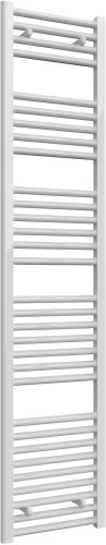 Reina Diva AG40180WF White Flat Towel Rail 400 x 1800mm