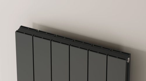 Reina Casina A-CSN180047AD Double Anthracite Textured Vertical Radiator 470 x 1800mm