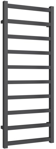 Reina Fano A-FNO1245A Anthracite Towel Rail 485 x 1240mm