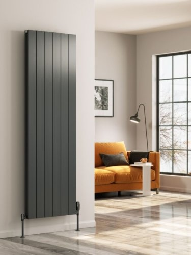 Reina Casina A-CSN180047AD Double Anthracite Vertical Radiator 470 x 1800mm