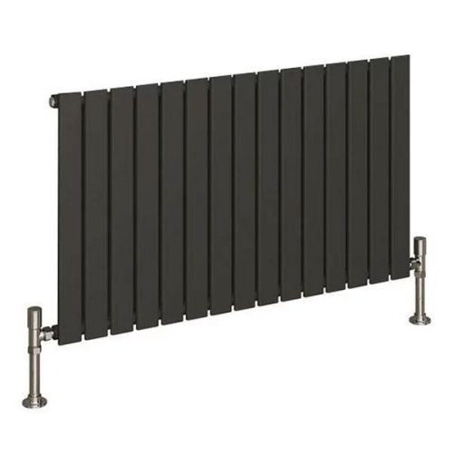 Reina Flat RND-FL08A Single Anthracite Horizontal 558 x 600mm