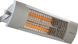 Dimplex OPH13PIR Wall Mounted Quartz Infrared Patio Heater with PIR Sensor 1.3kW