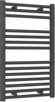 Reina Diva AG50800AF Anthracite Flat Towel Rail 500 x 800mm