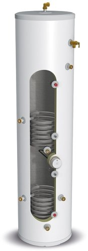 Gledhill StainlessLite Plus Slimline Unvented 120 Litre Cylinder - In-Direct Connection